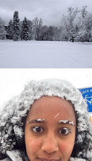 Winter days in Boulder