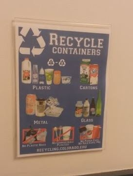 Recycling at CU-Boulder