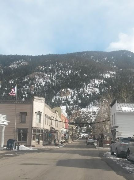 Colorado mountain town