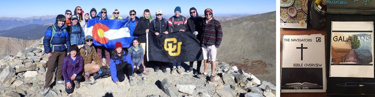 Navigators group on a hiking trip