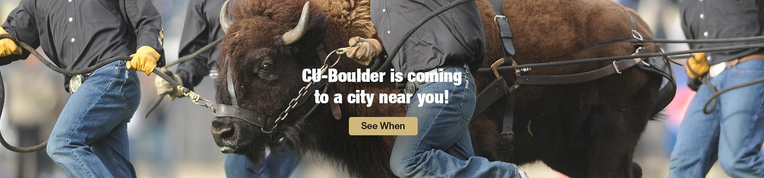 CU-Boulder is coming to a city near you! See when.
