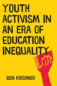 Youth Activism in an Era of Education Inequality book cover