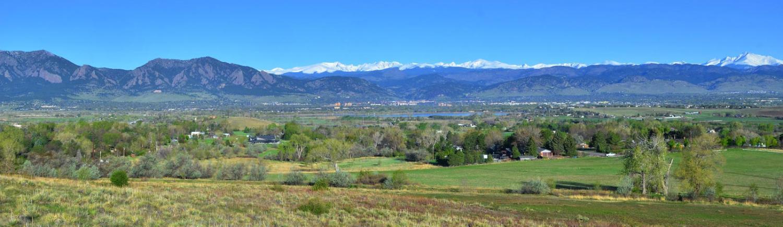 Scenic shot of Boulder