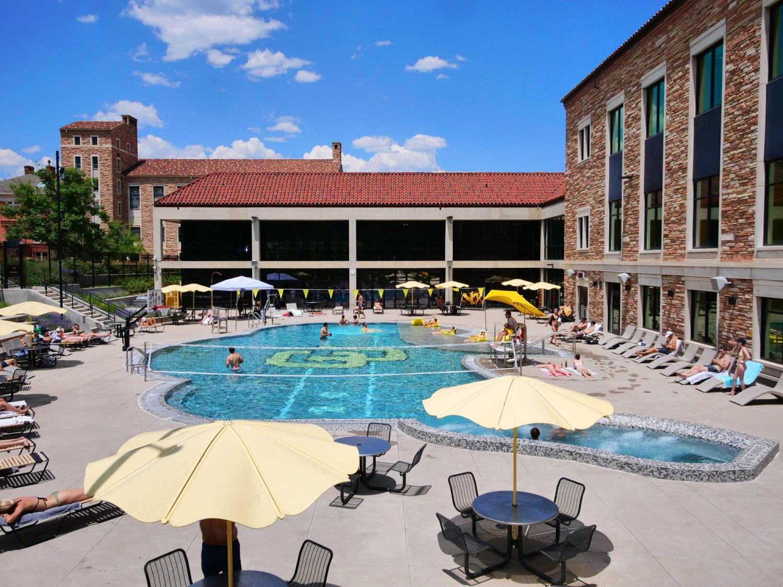 Buffalo Pool at the Rec Center