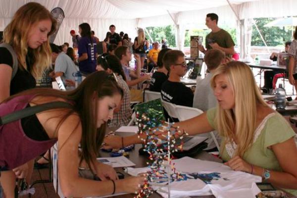 Involvement Fair participants