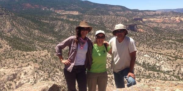 Archaeology program participants in Southern Colorado
