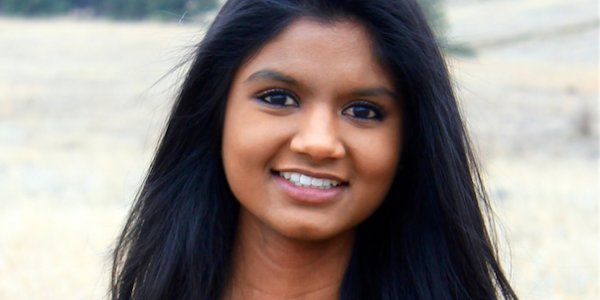 Lakshmi Karamsetti, a participant in the leadership studies minor