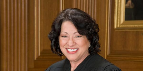 US Supreme Court Justice Sotomayor