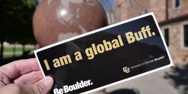 I am a Global Buff sticker