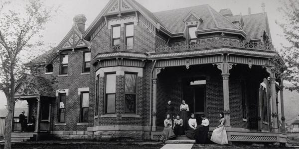 Historic image of the Women's Cottage