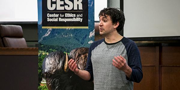Speaker at CESR