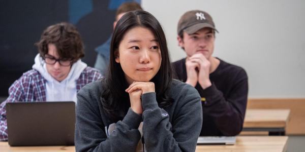 Students in CMCI class