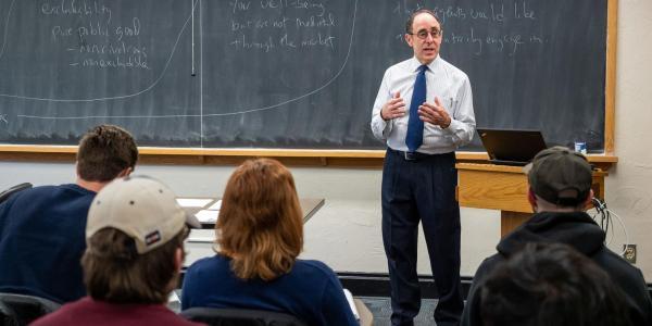 Faculty teaching class