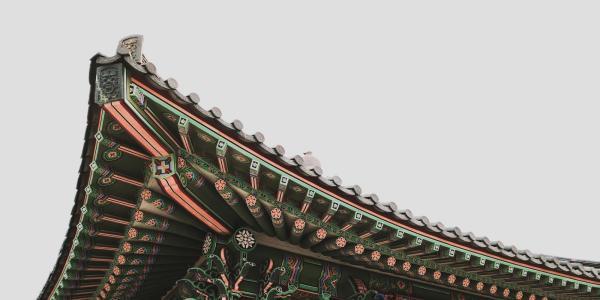 Korean rooftop