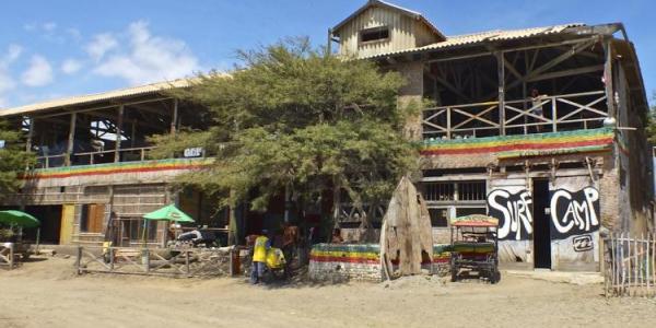 Building in Lobitos, Peru