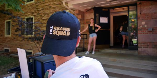 Move in welcome squad