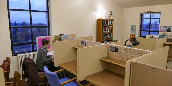Norlin Library carrells