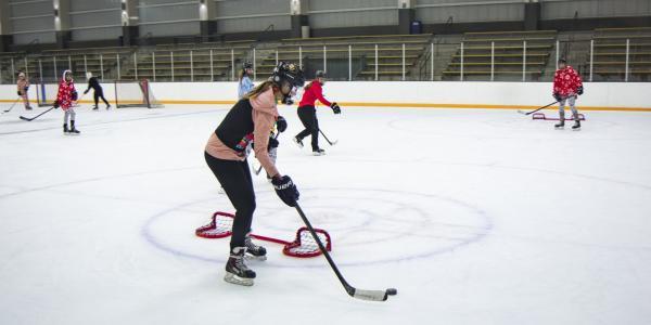 Hockey practice