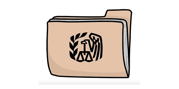 IRS folder graphic