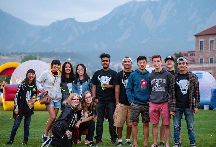 CU Boulder Students