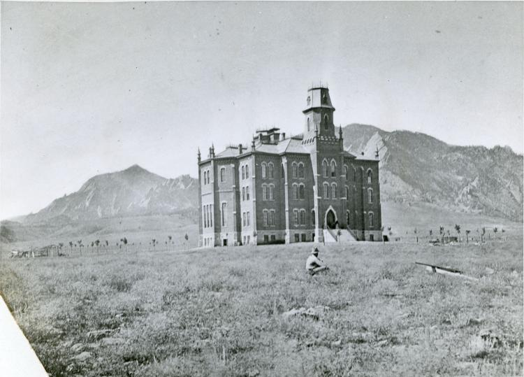 Old Main in the late 1800s
