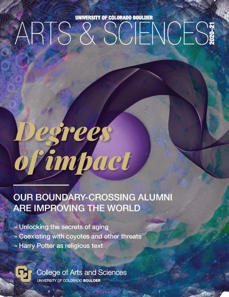 College of Arts & Sciences magazine