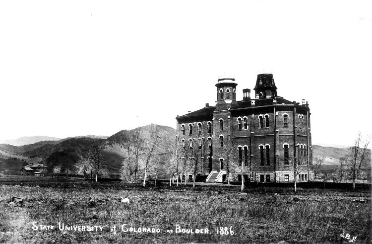 Old Main in 1886
