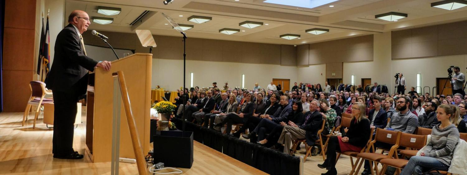 Chancellor Philip P. DiStefano Delivers the 2018 State of the Campus Address