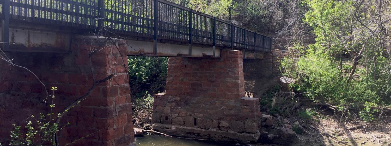 Bridge over CU Boulder creek