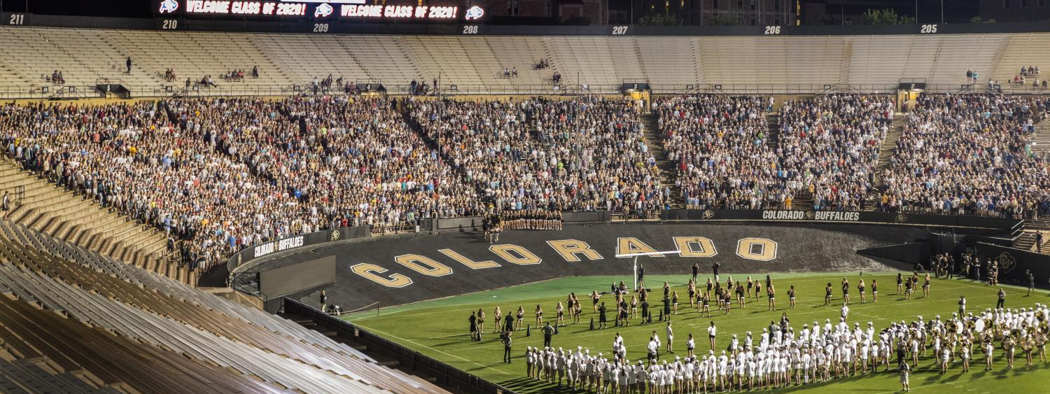 August 19, 2016 Convocation at Folsom Field