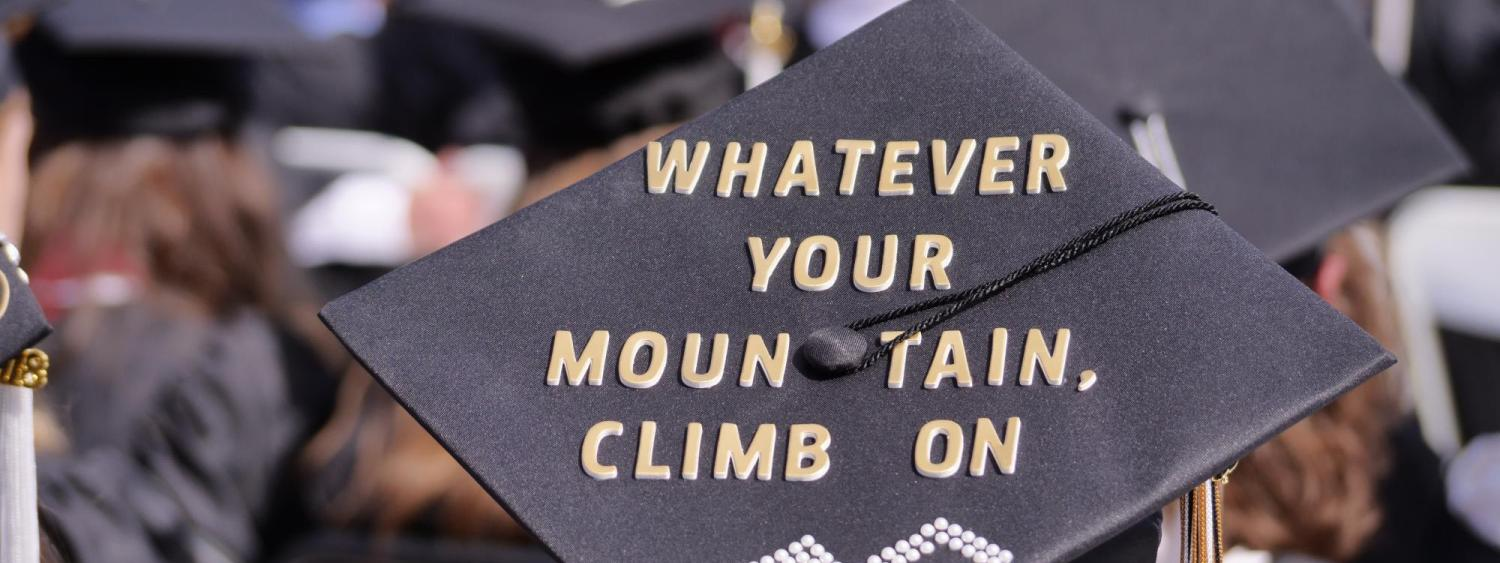 Whatever your mountain climb on
