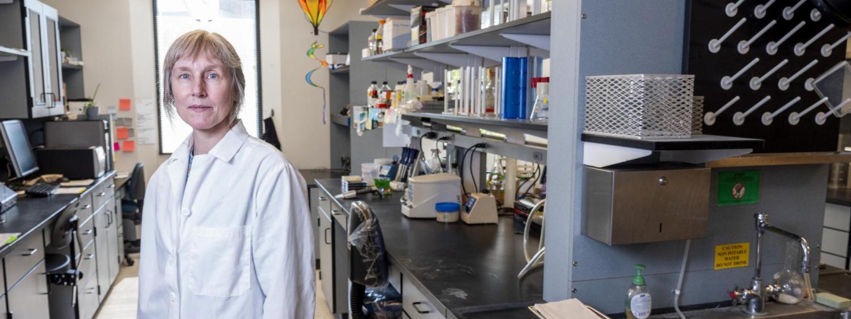 Corrie Detweiler in lab