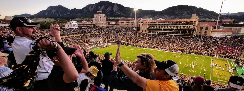 Family Weekend football game against University of Arizona