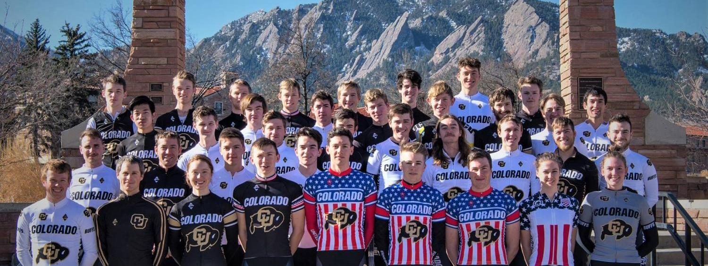 CU Cycling Team photo