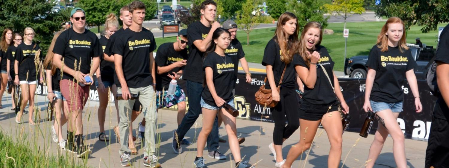 Students attend Fall Welcome event