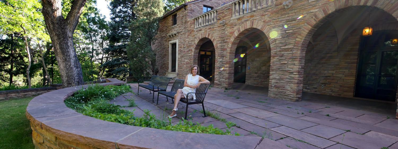 Campus Landscape Architect Richelle Reiller