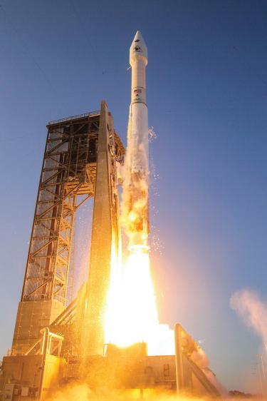 OSIRIS rocket