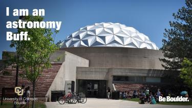"""Fiske Planetarium with """"I am an astronomy buff"""""""