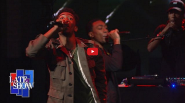 Desiigner's Late Show with Stephen Colbert performance of Panda