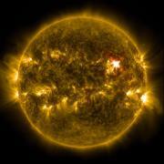 solar storms on sun