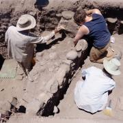 Archaeologists at Chaco Canyon