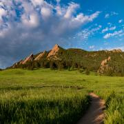 Chautauqua Park in Boulder, Colorado, USA