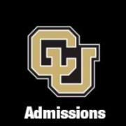CU Boulder Admissions Logo