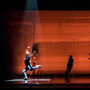 Dance performance at University Theatre