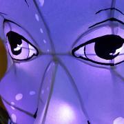 Closeup of Lila Finch's lantern