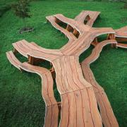 Tree-inspired picnic table