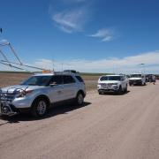 The Tracker vehicle and convoy for long-distance flights.