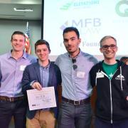 New Venture Challenge members