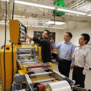 Ronggui Yang and Xiaobo Yin manufacturing cooling material