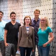 Margaret Murnane with team members